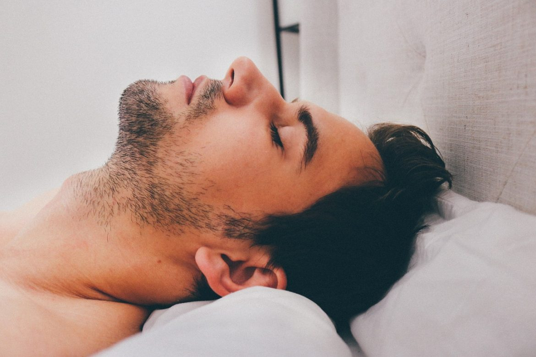snoring-man